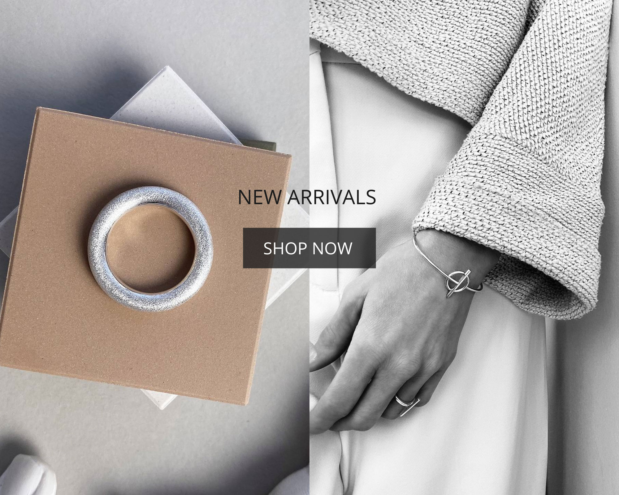 Silver jewellery in Scandinavian design by Mila Silver